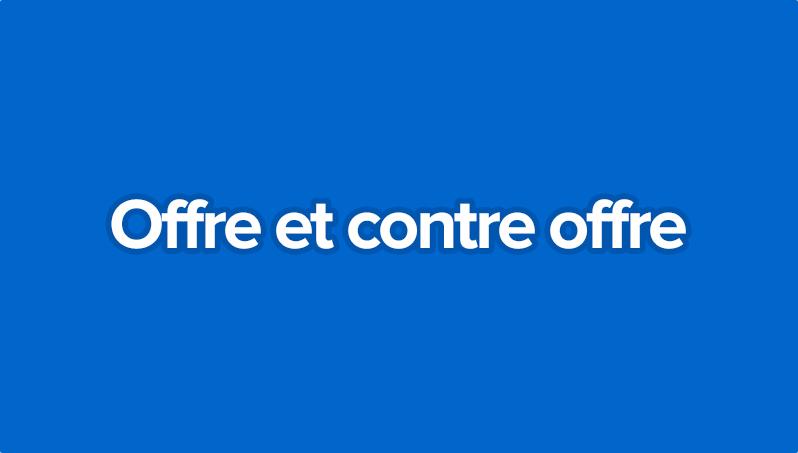 Offre Et Contre Offre Olivier Seban