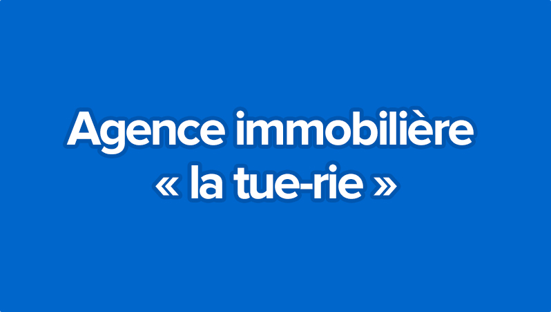 Agence immobili re la tue rie olivier seban for Agence immobiliere 04