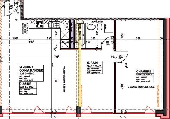 projet immobilier plan architecture olivier seban
